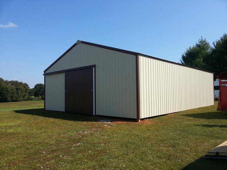 Pin 30x40 pole barn on pinterest for 30x40 barn plans