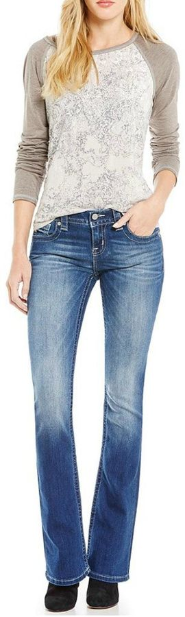 Miss Me Whiskered Mid Rise Jeans