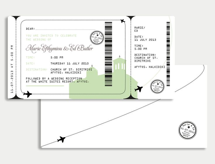 The 25+ Best Boarding Pass Invitation Ideas On Pinterest   Dinner Ticket  Template  Dinner Ticket Template