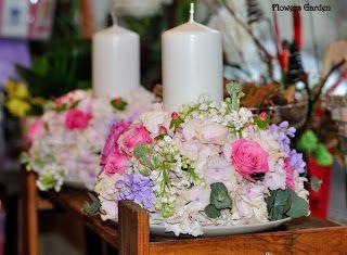 Flowers Garden, passion for colours: Aranjamente florale botez
