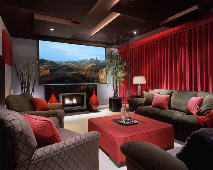 Media Room - Contemporary - Game/Rec room - Images by Beth Whitlinger Interior Design | Wayfair