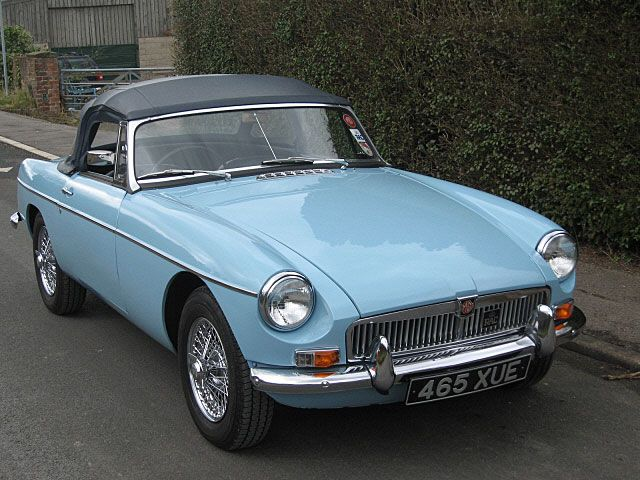 1963 MGB Roadster. Mine was originally this color.