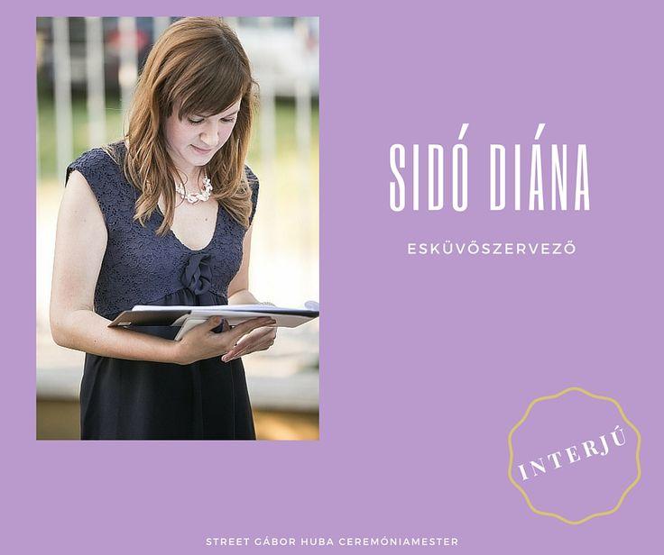 Sidó Diana esküvőszervező - INTERJÚ