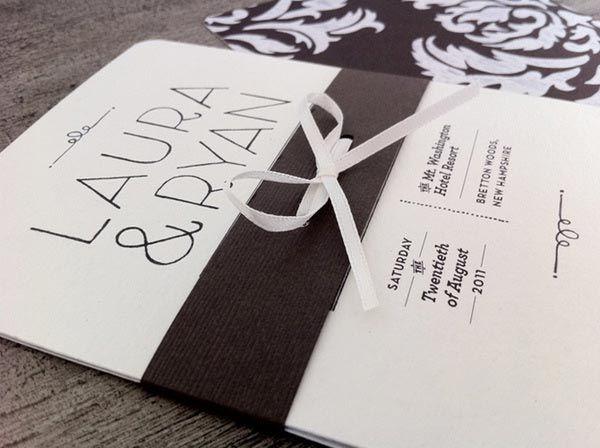 80 best wedding invitation images on pinterest card wedding 35 creative wedding invitation designs for inspiration stopboris Image collections