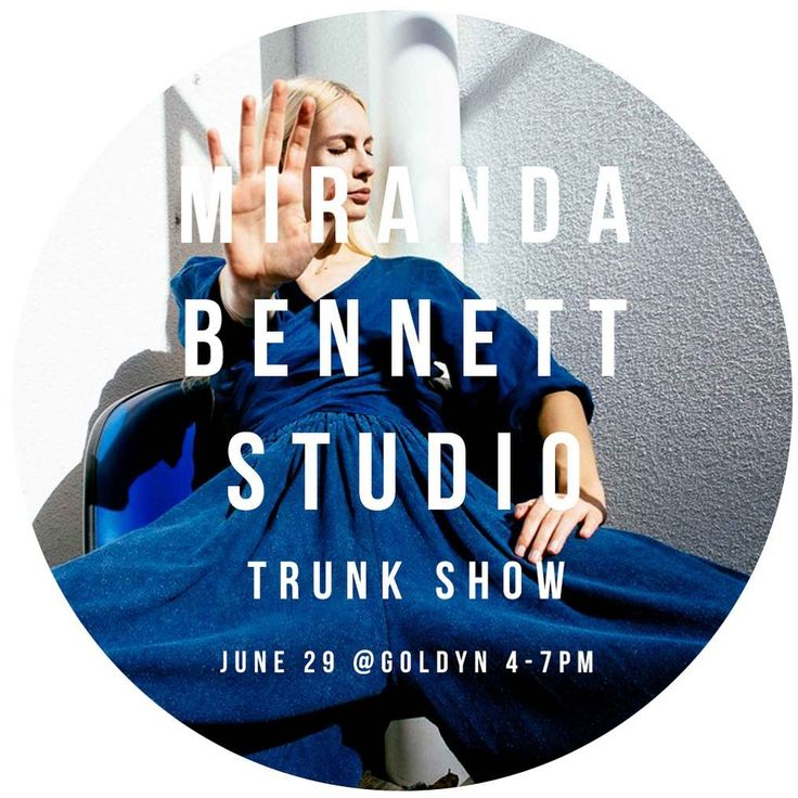 One week from today, come help us welcome Austin-based designer @mirandabennettstudio to Denver with a special cocktail reception from 4-7pm and shop her latest collection of all natural, #sustainablymade styles 👌 #ecofashion #sustainablefashion #austinfashion #mirandabennett