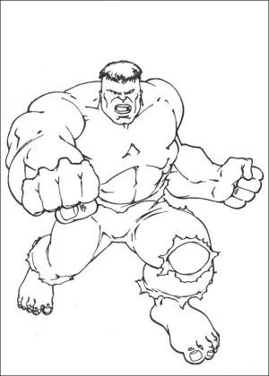 Hulk Coloring Page 65 Is A From BookLet Your Children Express Their Imagination When They Color The