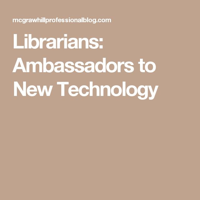 Librarians as facilitators of technological literacy?