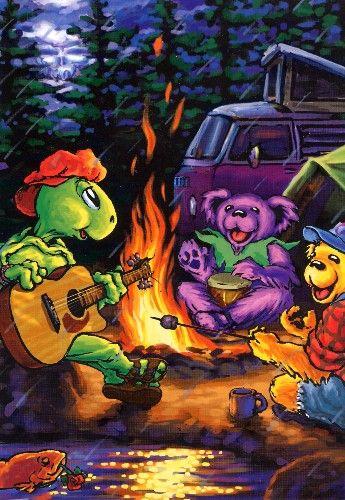 Dancin' Bears Campin'