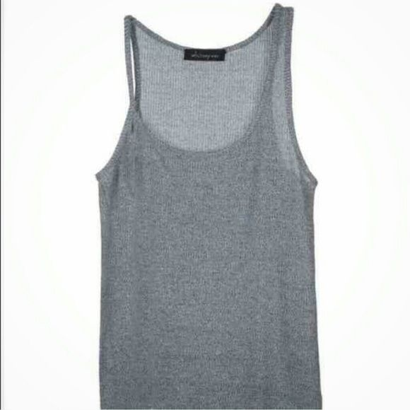 """Whitney eve top Whitney eve morning glory top. One of the prettiest tank tops I've ever seen. It has a slight shimmer to it along with some white undertones. It measures about 20"""" from top to bottom. My price is firm. Whitney Eve Tops Tank Tops"""