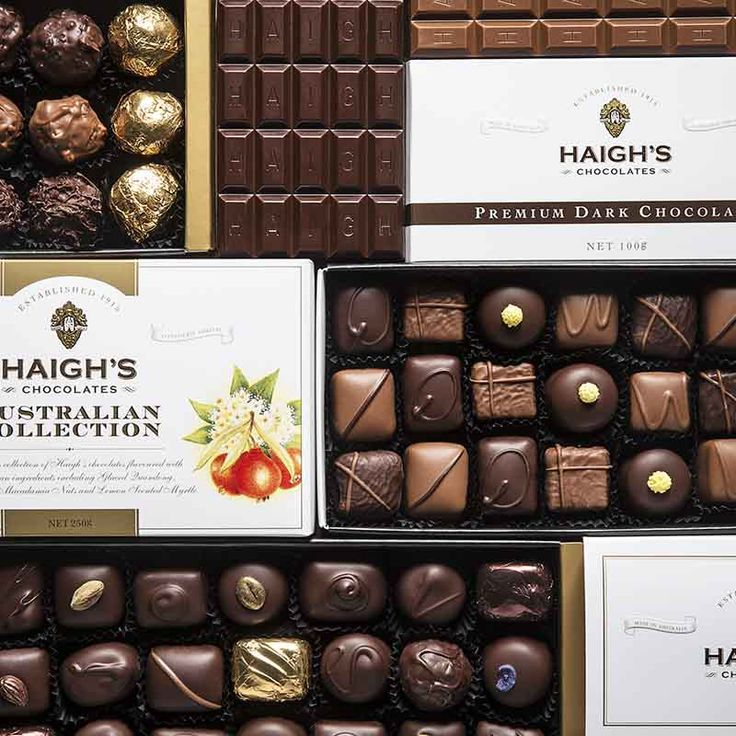 Visit our new website haighschocolates.com