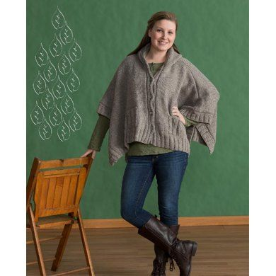 44 best Poncho Knitting Patterns images on Pinterest | Ponchos ...