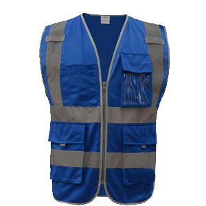 SFvest High visibility reflective safety vest reflective workwear safety clothing free shipping