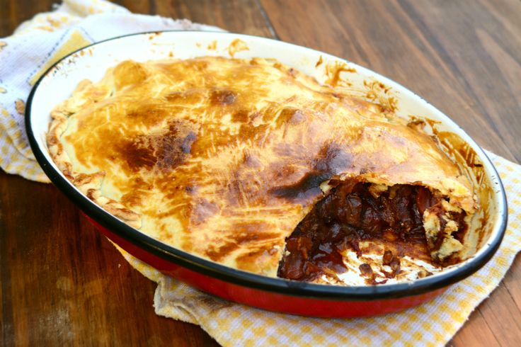 Steak & Beer Pie