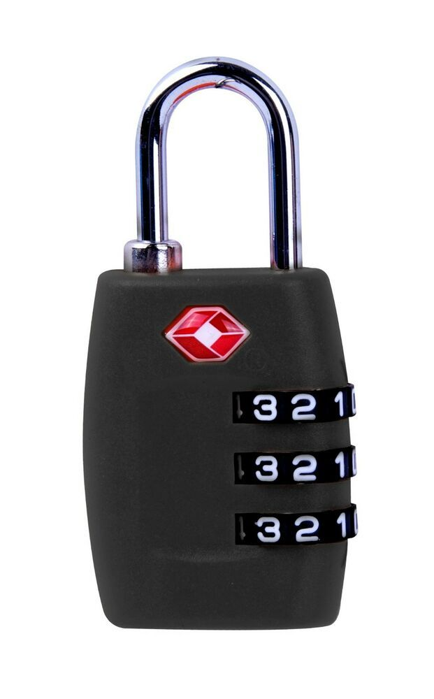 Hijing 3 Digit Combination TSA Secure Padlock Lock Luggage Suitcase Travel Code Lock