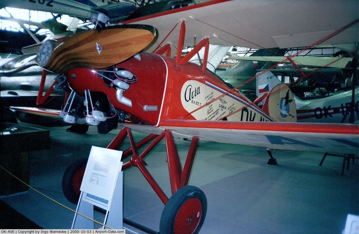OK-AVE, 1934 Avia Ba-122 C/N 2, Avia Ba-122 at the Letecke Muzeum, Prague-Kbely
