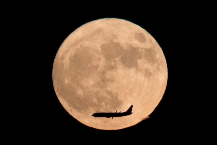 A super lua de Novembro de 2016 - Pequim, China