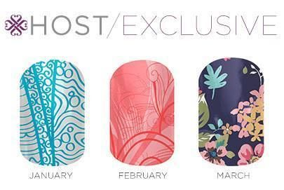 Host an online or facebook Jamberry Party and get these great Host Exclusive wraps. www.dropthepolish.jamberrynails.net