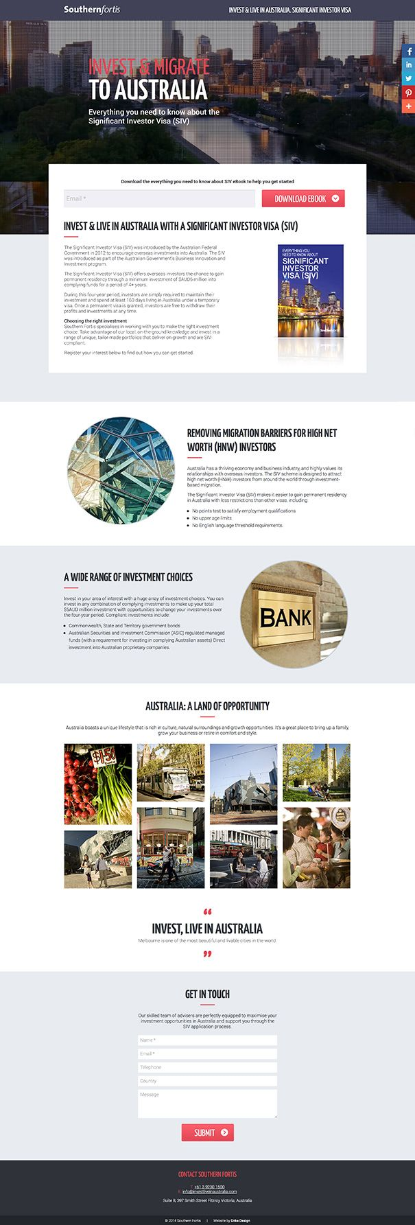 Souther Fortis WordPress website