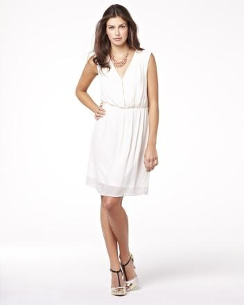 Summer 2013 Collection Chiffon dress with front zip