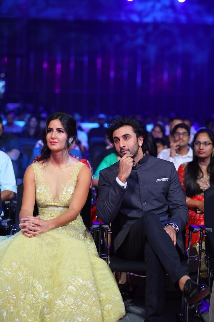 Jagga Jasoos pair actor Ranbir Kapoor and actress Katrina Kaif spotted at SIIMA 2017 in Abu Dhabi.