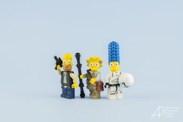 https://flic.kr/p/BHdwiM | The Force Awakens - Simpsons Version | Simpsons/Star Wars crossover