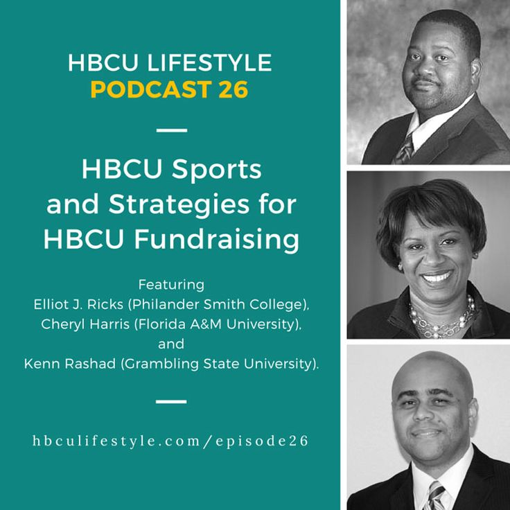 """HBCU Lifestyle Podcast 