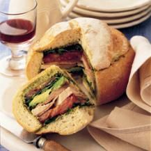 Provencal turkey sandwich - A Mediterranean delight | Find delicious recipes at Reader's Digest New Zealand