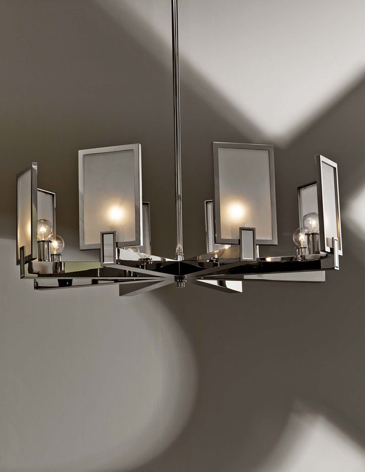Cl sterling son square chandelier · square chandelierdecorative lightingmodern