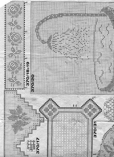 Burda E370 - inevavae - Picasa Web Albümleri | Filet Crochet