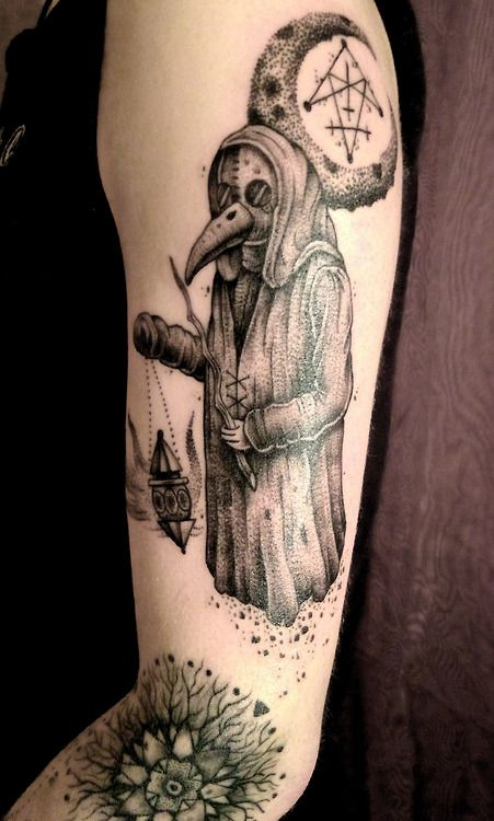 1000 images about black plague doctor on pinterest for Plague doctor tattoo