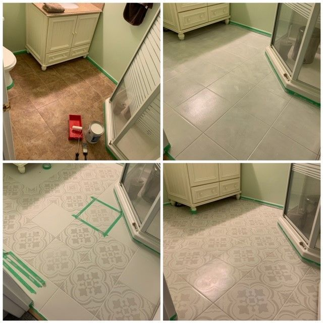 Shop Stencils Wall Stencils For Diy Home Decor Projects In 2020 Painting Tile Floors Stencils Wall Diy Home Decor Projects
