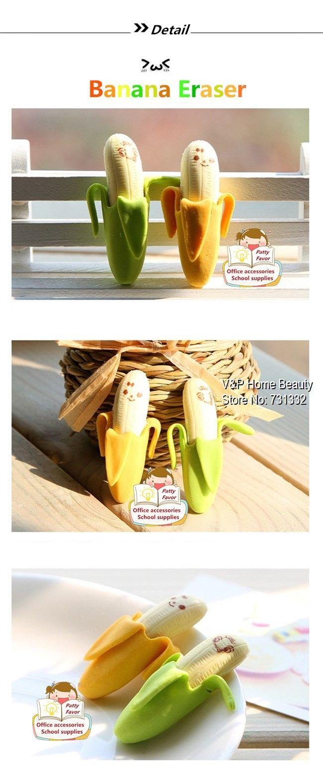 Ластик 10 шт./лот банан s резина для карандаша забавные милые ручка канцелярские новинка офисные принадлежности школьные принадлежности 6414купить в магазине V&P Home Beauty Co.,LtdнаAliExpress