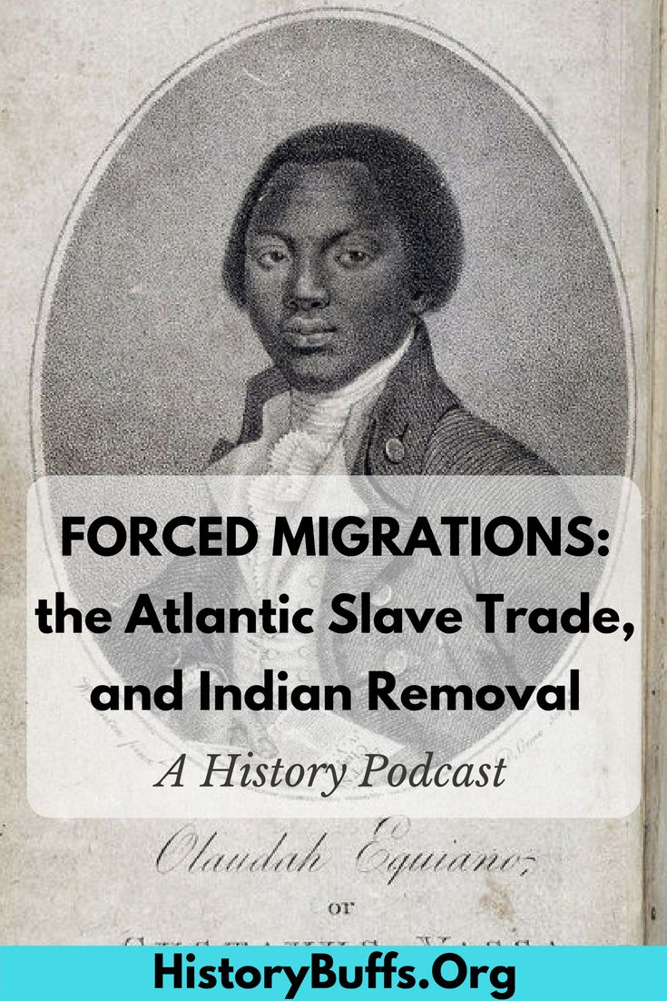 a look at the forced migration of african slaves This tension, caused by the racial barriers impeding african-american progress  and the realization of the american dream, forced african-americans to look.