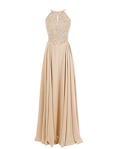 Dressystar Straps Sparkling Formal Gown Beading Prom Evening Dress Backless Size 14 Champagne Dressystar http://www.amazon.com/dp/B00Q4M4OPK/ref=cm_sw_r_pi_dp_hSzUvb1HDJ7GJ