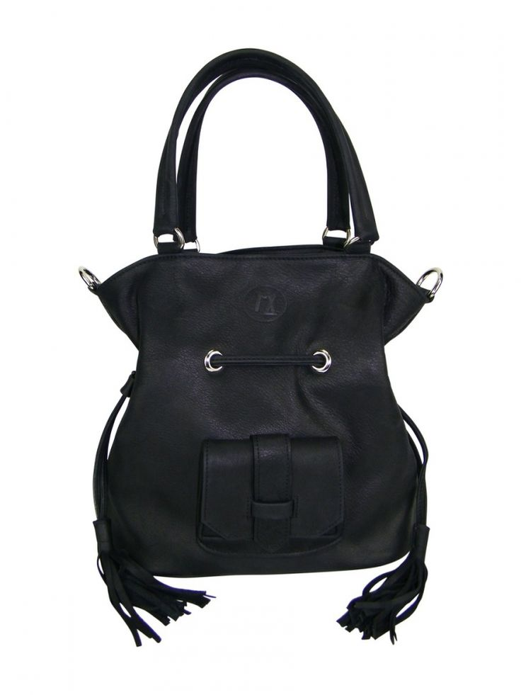 Retrouvez MLsellierSac Coline en cuir noir made in France avec Shoppinity