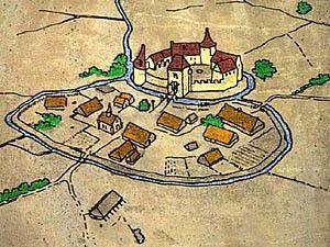 De eerste steden. Ontstaan van middeleeuwse steden.