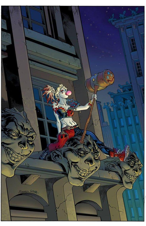 Harley Quinn Vol 3  # 1 - Yancy St. Comics Variant Cover by Tom Raney
