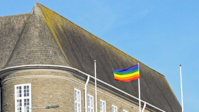 The rainbow flag will be flown above Carmarthenshire County Hall this weekend following a row over the council's flag protocol.