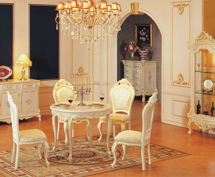 Antique White Dining Room Entrancing Decorating Inspiration