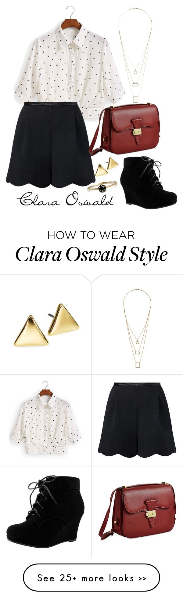 """Clara Oswald inspiration"" by whimsicalfangirl on Polyvore                                                                                                                                                                                 More"