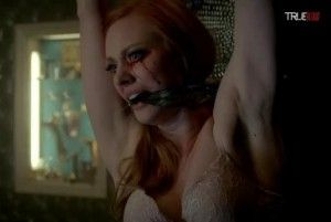 Deborah Ann Woll stars as Jessica Hamby in HBO's True Blood Season 7 Episode 8 (entitled 'Almost Home')