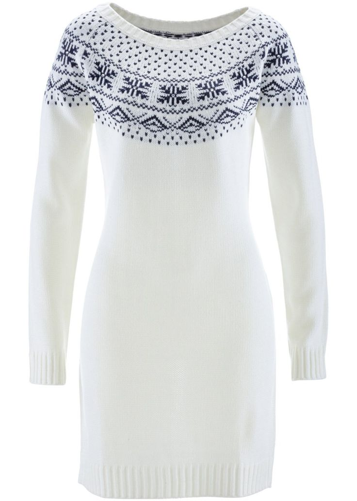 Pletené šaty Zdobené štrasovými • 22.99 € • Bon prix
