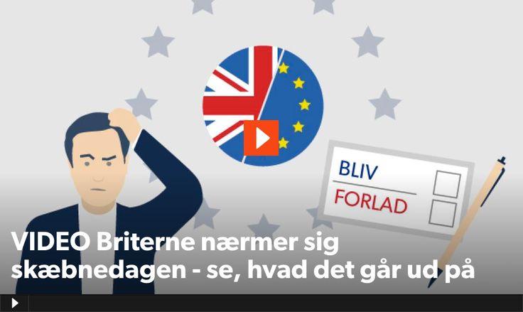 Video: Storbritannien har været medlem af EU i mere end 40 år, men den 23. juni afgør briterne, om de skal blive i Unionen.