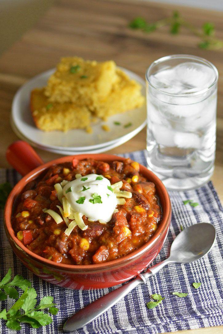 Crock-Pot Vegetable Chili Recipe