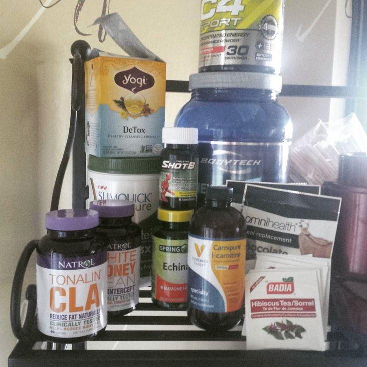 My can't live without supplements. #yogidetoxtea #tonalincla #cla #whitekidneybean #carbintercept #slimquick #omnihealth #shake #c4 #preworkout #shotb #echinacea #hibiscus #shakerecovery #bodytech #vitaminshoppe  #carnipure #icarnitine #supplies #gymlife #wortheverypenny #clafattack #weightlosstips #lifestyle #workoutaddict #hibiscustea #amitheonlyone #gymflow #diet #dietpills by keldopedro
