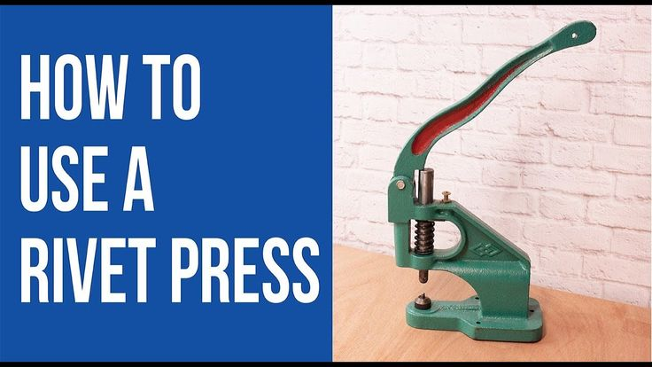 Take the guesswork out of properly using a rivet press! Join Sara from Sew Sweetness to find out how to finish your bags and other projects with a free video tutorial wth this useful tool!