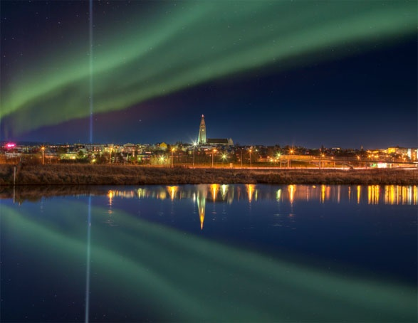 Reykjavik,IcelandAmazing Universe, Beautiful Cities, Northernlightsiceland Com, Northernmost Capitals, Buckets, Reykjavik Iceland, Northern Lights, Awesome Places, 1001 Places