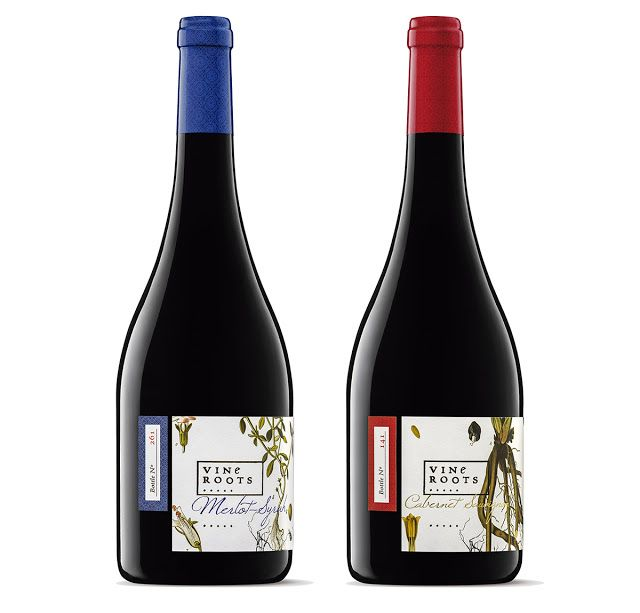 Vine Roots - The Memory of the Terroir on Packaging of the World - Creative Package Design Gallery