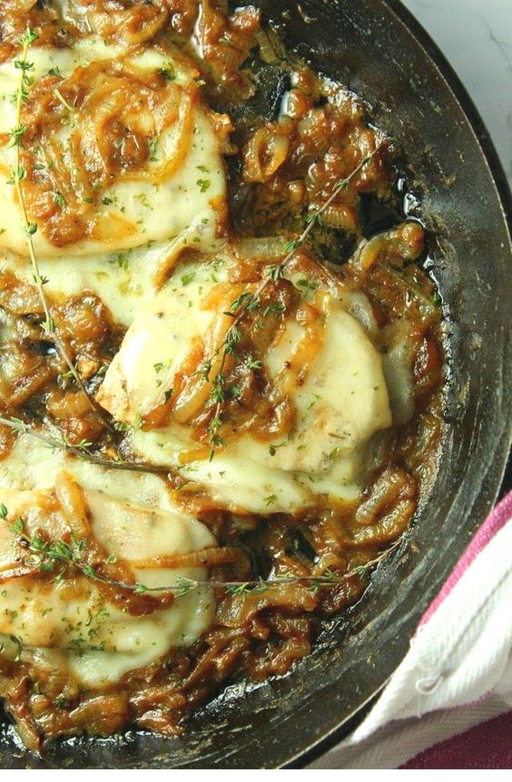 Smothered French Onion Pork Chops | Easy Pork Chop Ideas