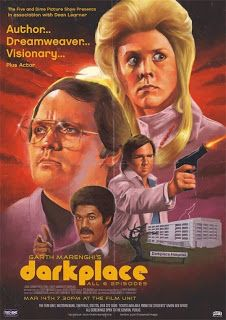 Garth Marenghi's Darkplace Marathon Screening Event Poster